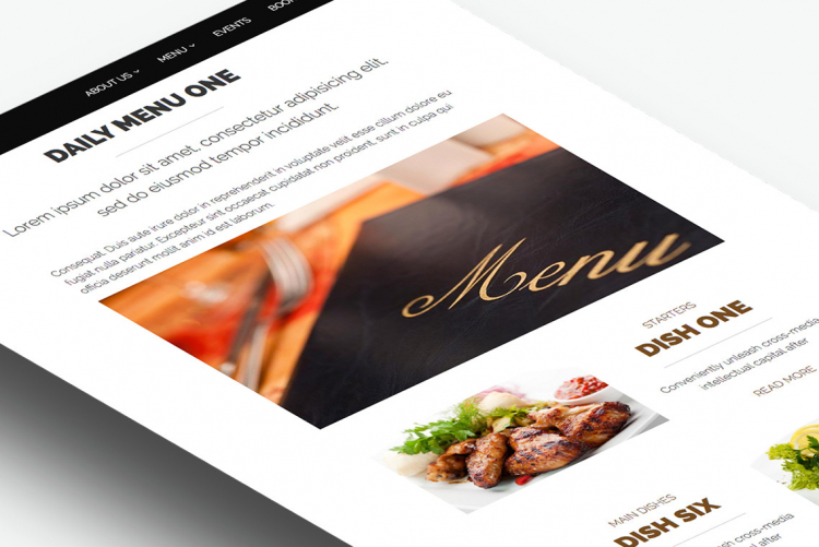 A Daily Menu entry groups and presents selected Dishes in Menu+