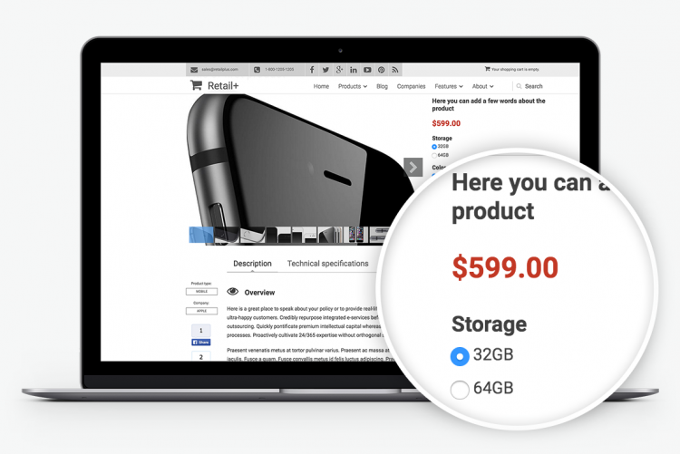 Commerce Product Attributes & Variations